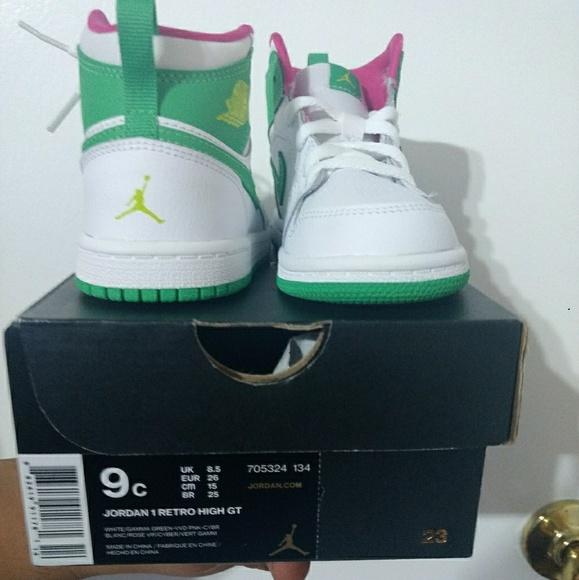 buy online d3e8f f4060 toddler girls Jordan NWT